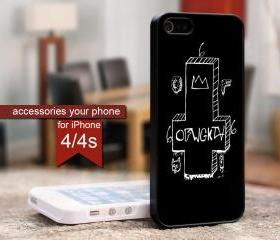 Hp184A Wolf Gang OFWGKTA for iPhone 4 / 4s Black case